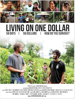 Living on one dollar. See it now!