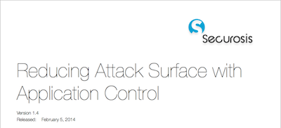 Reducing Attack Surface with Application Control