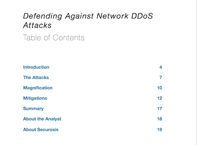 N-DDoS Table of Contents