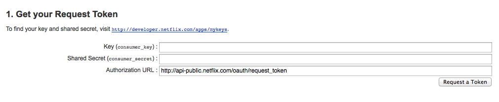 Netflix Authentication Walk-Through