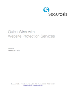 Quick Wins with Website Protection Services